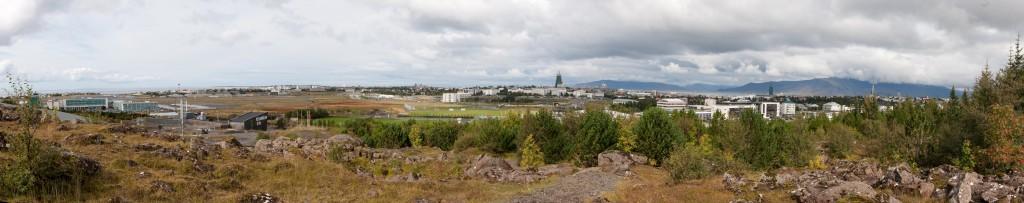 Reykjavík frá Perlan