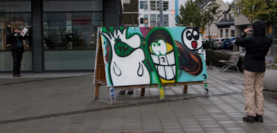 Street art in Hafnarfjörður